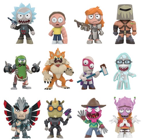 2018 Funko Rick and Morty Mystery Minis Series 2 1