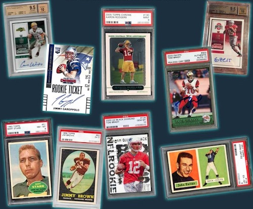 2018 Leaf Greatest Hits Football Cards 1