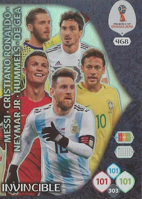 2018 Panini Adrenalyn XL World Cup Russia Soccer