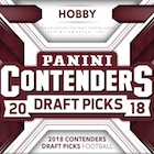 2018 Panini Contenders Draft Picks Football Cards