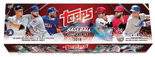 2018 Topps Baseball Complete Factory Set Breakdown 4