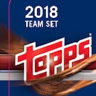 2018 Topps Baseball Factory Team Set Cards