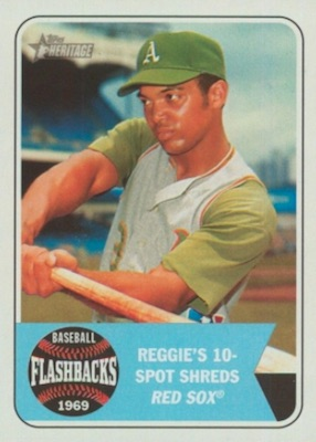 2018 Topps Heritage Baseball Cards 34