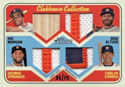 2018 Topps Heritage Baseball Cards 36
