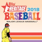 2018 Topps Heritage Baseball Variations Checklist and Gallery