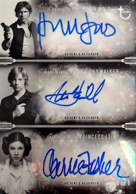 Topps Star Wars A New Hope Black and White