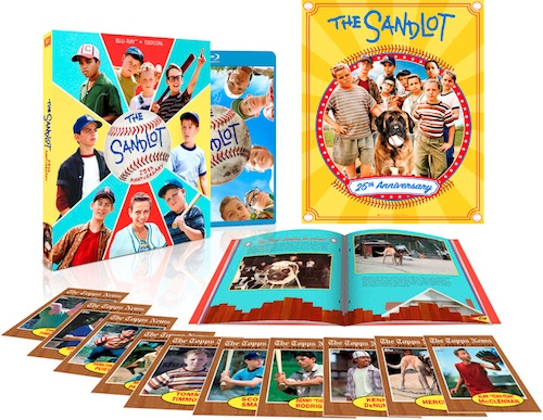2018 Topps The Sandlot 25th Anniversary Blu-Ray Baseball Cards 1