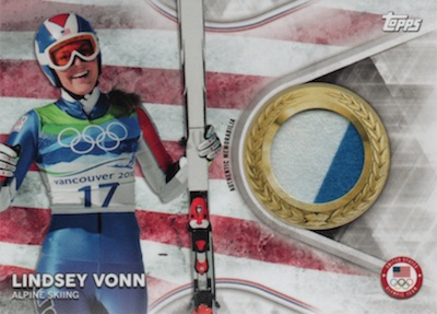 2018 Topps US Winter Olympics and Paralympics Team Hopefuls Trading Cards 31