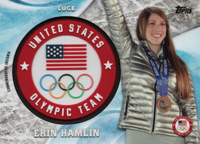 2018 Topps US Winter Olympics and Paralympics Team Hopefuls Trading Cards 32