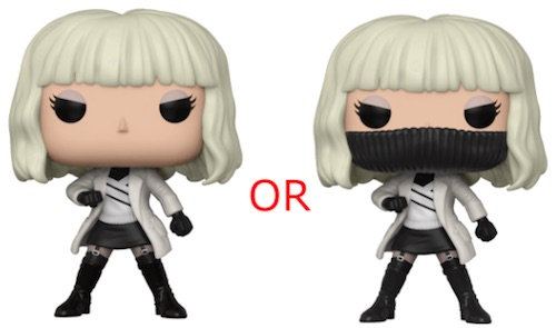 2018 Funko Pop Atomic Blonde Vinyl Figures 1