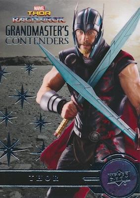2018 Upper Deck Thor Ragnarok Trading Cards 33