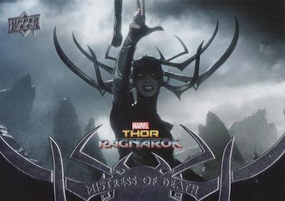 2018 Upper Deck Thor Ragnarok Trading Cards 34