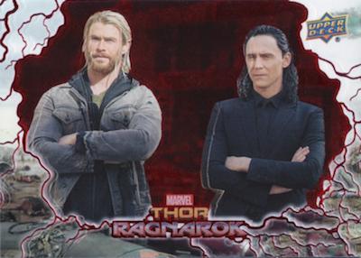 2018 Upper Deck Thor Ragnarok Trading Cards 3