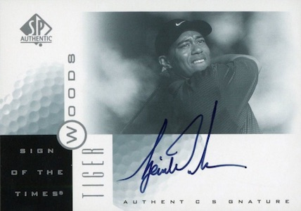 Top Tiger Woods Golf Cards to Collect 6
