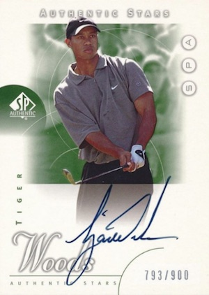 Top Tiger Woods Golf Cards to Collect 16