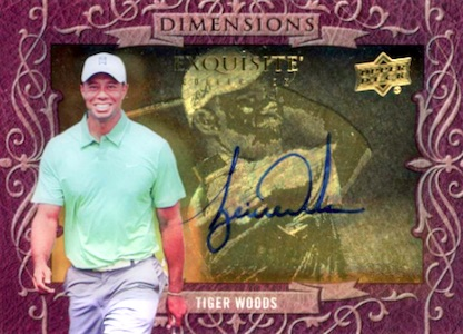 Top Tiger Woods Golf Cards to Collect 12
