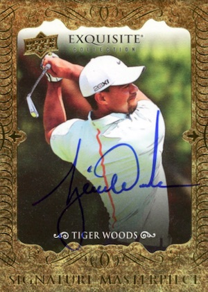 Top Tiger Woods Golf Cards to Collect 11
