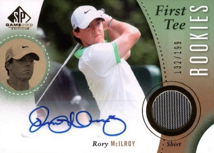 Top Rory McIlroy Cards 8
