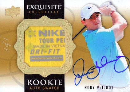 Top Rory McIlroy Cards 6