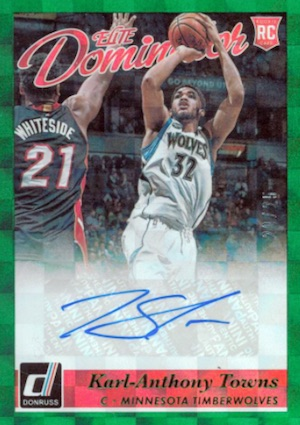Karl-Anthony Towns Rookie Cards Checklist and Gallery 2