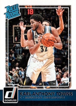 Karl-Anthony Towns Rookie Cards Checklist and Gallery 1