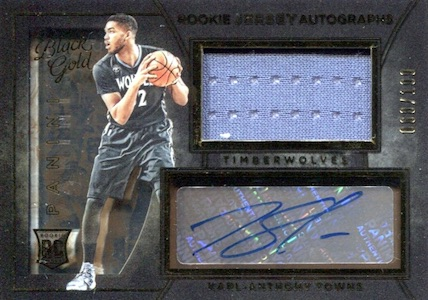 Karl-Anthony Towns Rookie Cards Checklist and Gallery 5