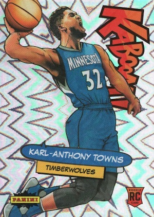 Karl-Anthony Towns Rookie Cards Checklist and Gallery 19
