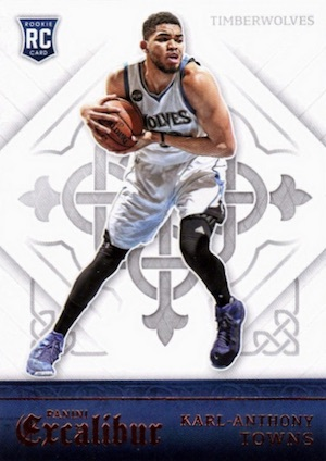 Karl-Anthony Towns Rookie Cards Checklist and Gallery 18