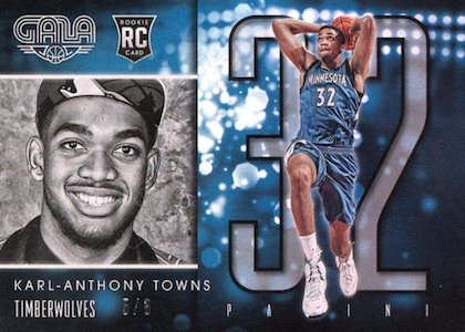 Karl-Anthony Towns Rookie Cards Checklist and Gallery 14