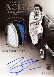 Karl-Anthony Towns Rookie Cards Checklist and Gallery 28