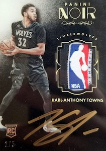 Karl-Anthony Towns Rookie Cards Checklist and Gallery 29