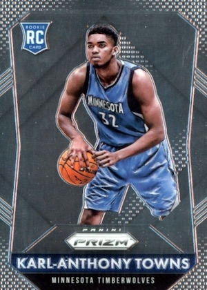 Karl-Anthony Towns Rookie Cards Checklist and Gallery 32