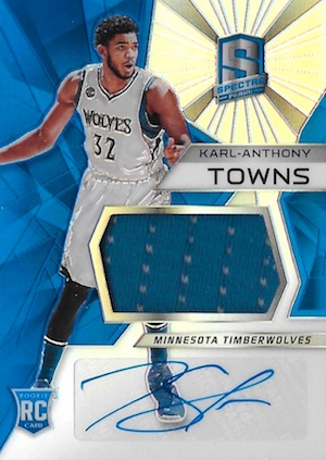 Karl-Anthony Towns Rookie Cards Checklist and Gallery 38