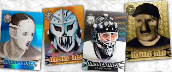 2017-18 Leaf Masked Men Hockey