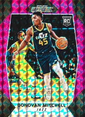 2017-18 Panini Mosaic Prizm Basketball Cards 3