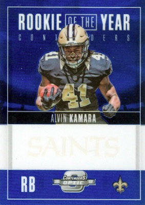 2017 Panini Contenders Optic Football Cards - SP/SSP Rookie Ticket Print Runs Added 33