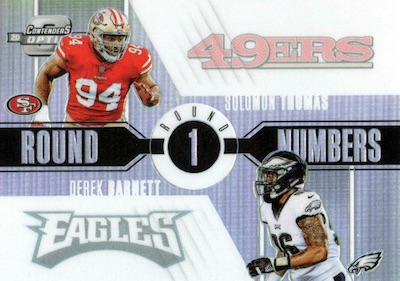 2017 Panini Contenders Optic Football Cards - SP/SSP Rookie Ticket Print Runs Added 39