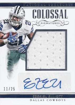 4acce6fba 2017 Panini National Treasures Football Checklist
