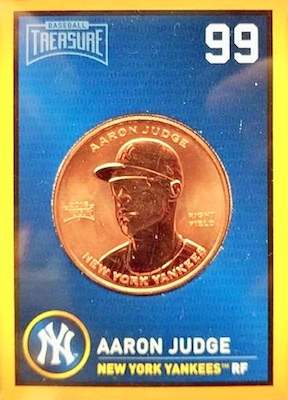 2018 Baseball Treasure MLB Coins 4