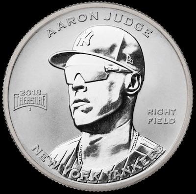 2018 Baseball Treasure MLB Coins