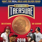 2018 Baseball Treasure MLB Coins