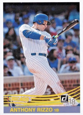 2018 Donruss Baseball Variations Guide 96