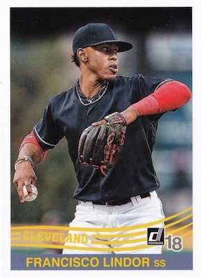2018 Donruss Baseball Variations Guide 105