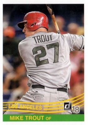 2018 Donruss Baseball Variations Guide 107