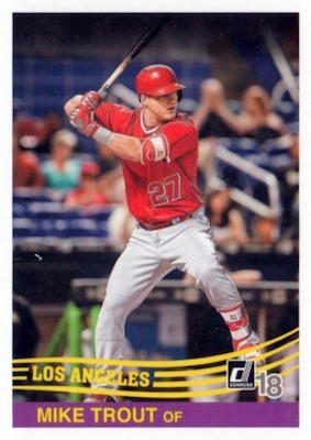 2018 Donruss Baseball Variations Guide 106