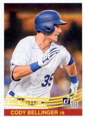 2018 Donruss Baseball Variations Guide 109