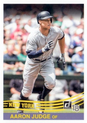 2018 Donruss Baseball Variations Guide 110