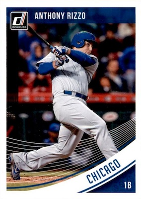 2018 Donruss Baseball Variations Guide 30