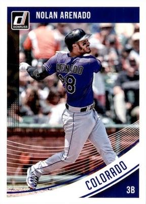 2018 Donruss Baseball Variations Guide 72
