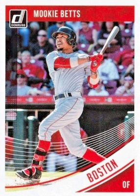 2018 Donruss Baseball Variations Guide 87